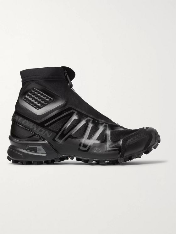 Salomon Snowcross Adv Ltd Mesh, Rubber and Neoprene Boots