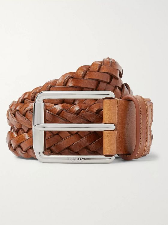 Tod's 3.5cm Woven Leather Belt