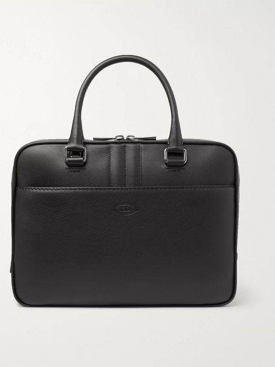 Tod's Full-Grain Leather Briefcase