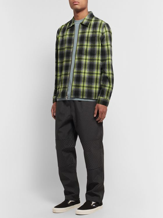 Stüssy Gunn Checked Flannel Overshirt