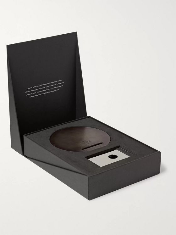 Berluti + Native Union Venezia Leather Dock Wireless Charger