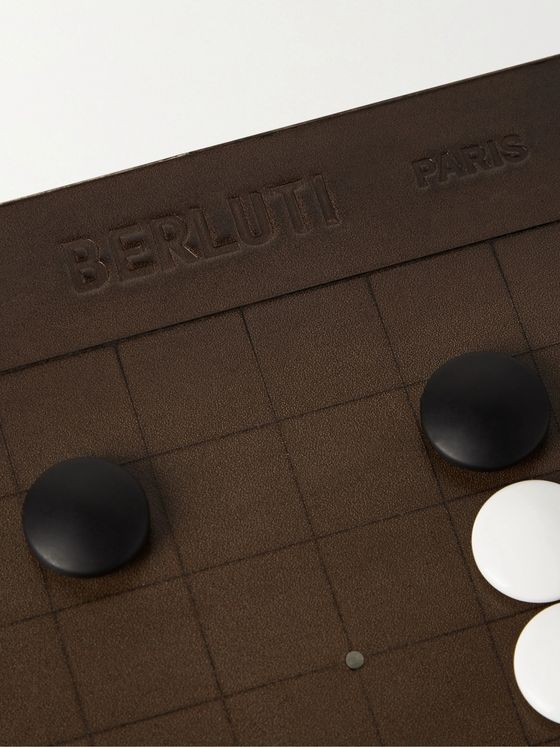 Berluti Leather and Metal Go Set