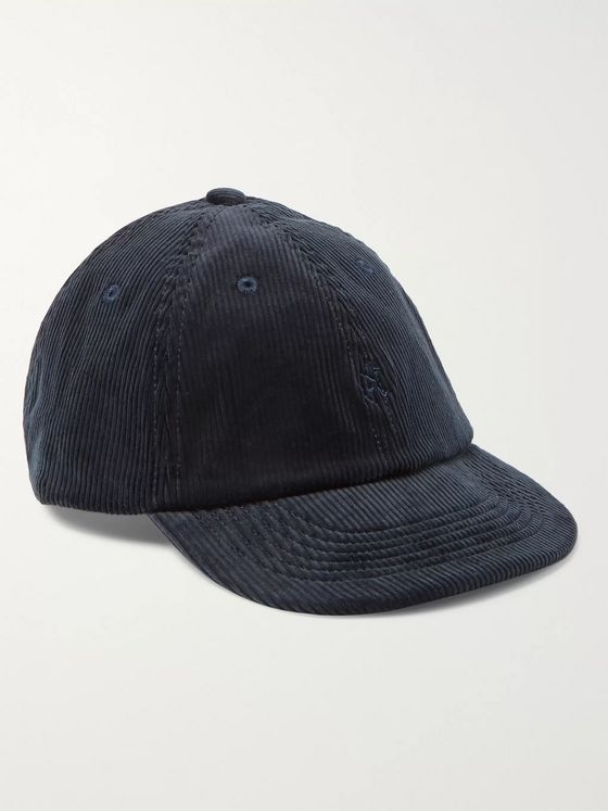 Gramicci Logo-Embroidered Cotton-Corduroy Baseball Cap