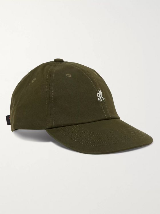 Gramicci Logo-Embroidered Cotton-Blend Twill Baseball Cap