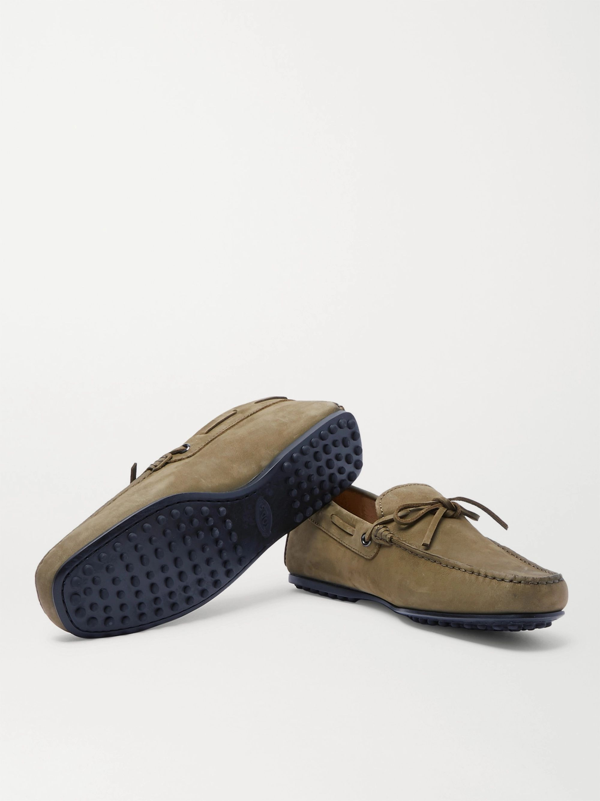 Tod's City Gommino Nubuck Driving Shoes