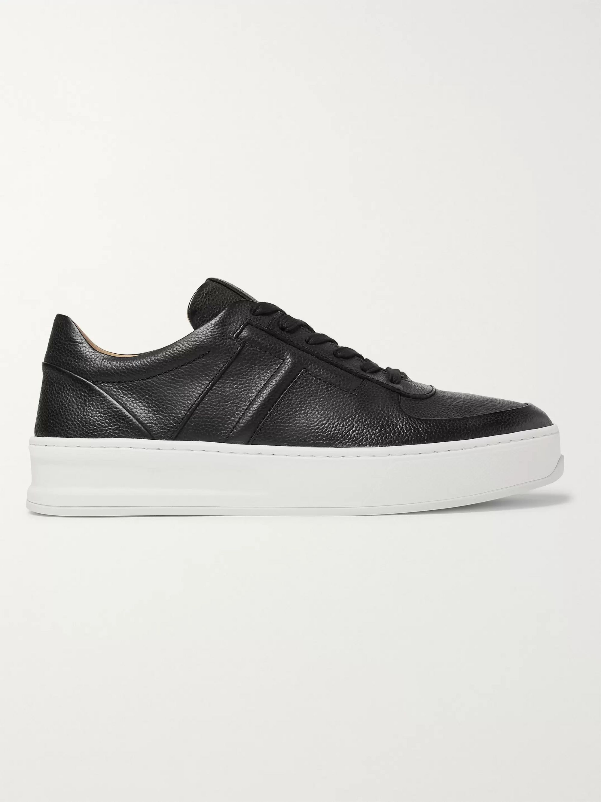Tod's Full-Grain Leather Sneakers