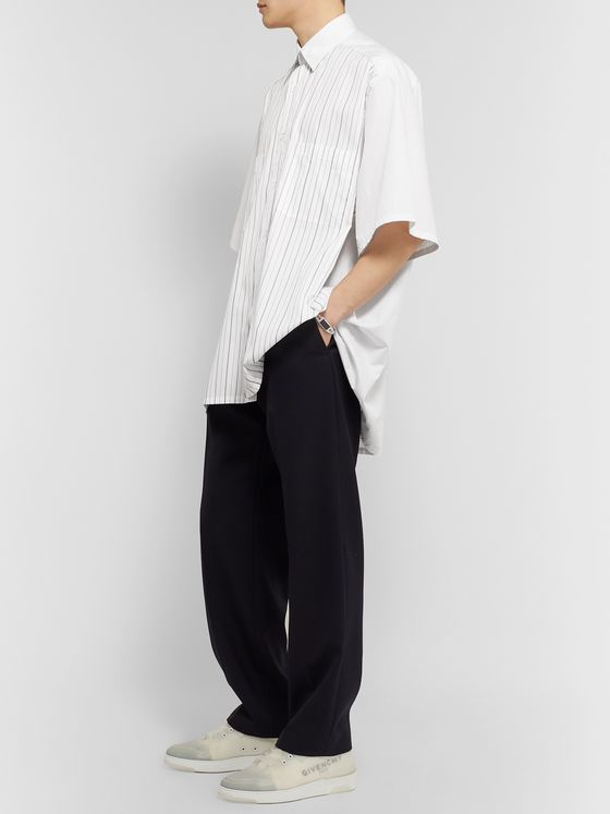 Givenchy Oversized Striped Cotton Shirt