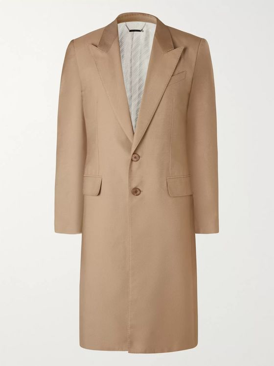 Givenchy Slim-Fit Cotton and Silk-Blend Twill Coat