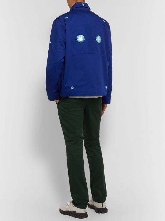 Craig Green Embroidered Embellished Twill Blouson Jacket