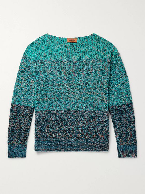 Missoni Mélange Cotton-Blend Sweater