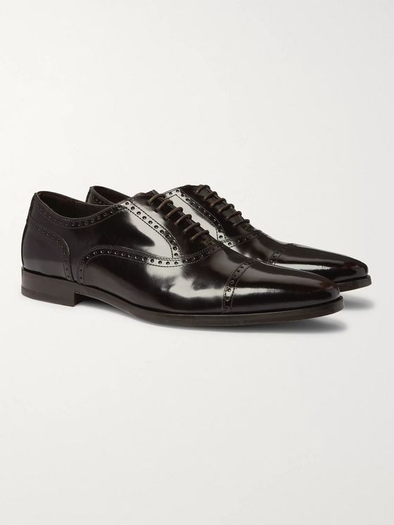 Paul Smith Shaw Polished-Leather Brogues