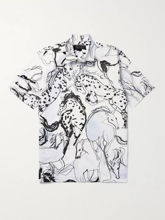 Stella McCartney Ricardo Printed Cotton-Poplin Shirt