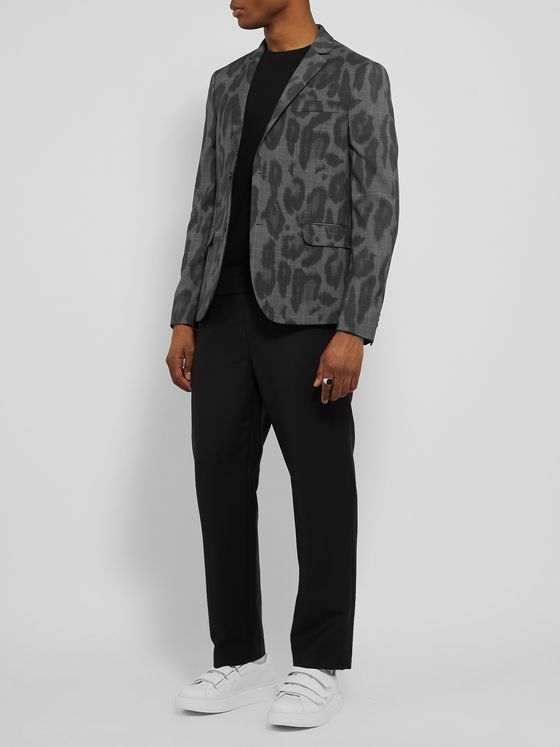 Stella McCartney Bobby Printed Wool Suit Jacket
