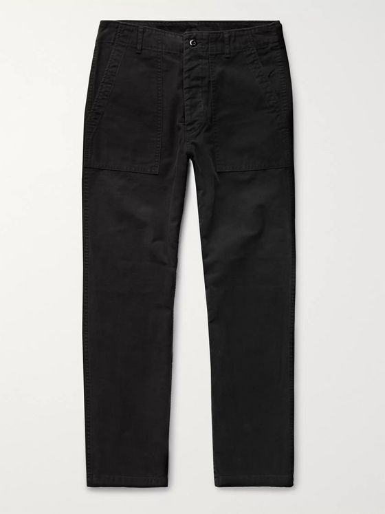 Wacko Maria Blankline Johnny Cotton Trousers