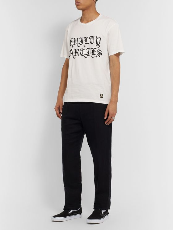 Wacko Maria Slim-Fit Printed Cotton-Jersey T-Shirt
