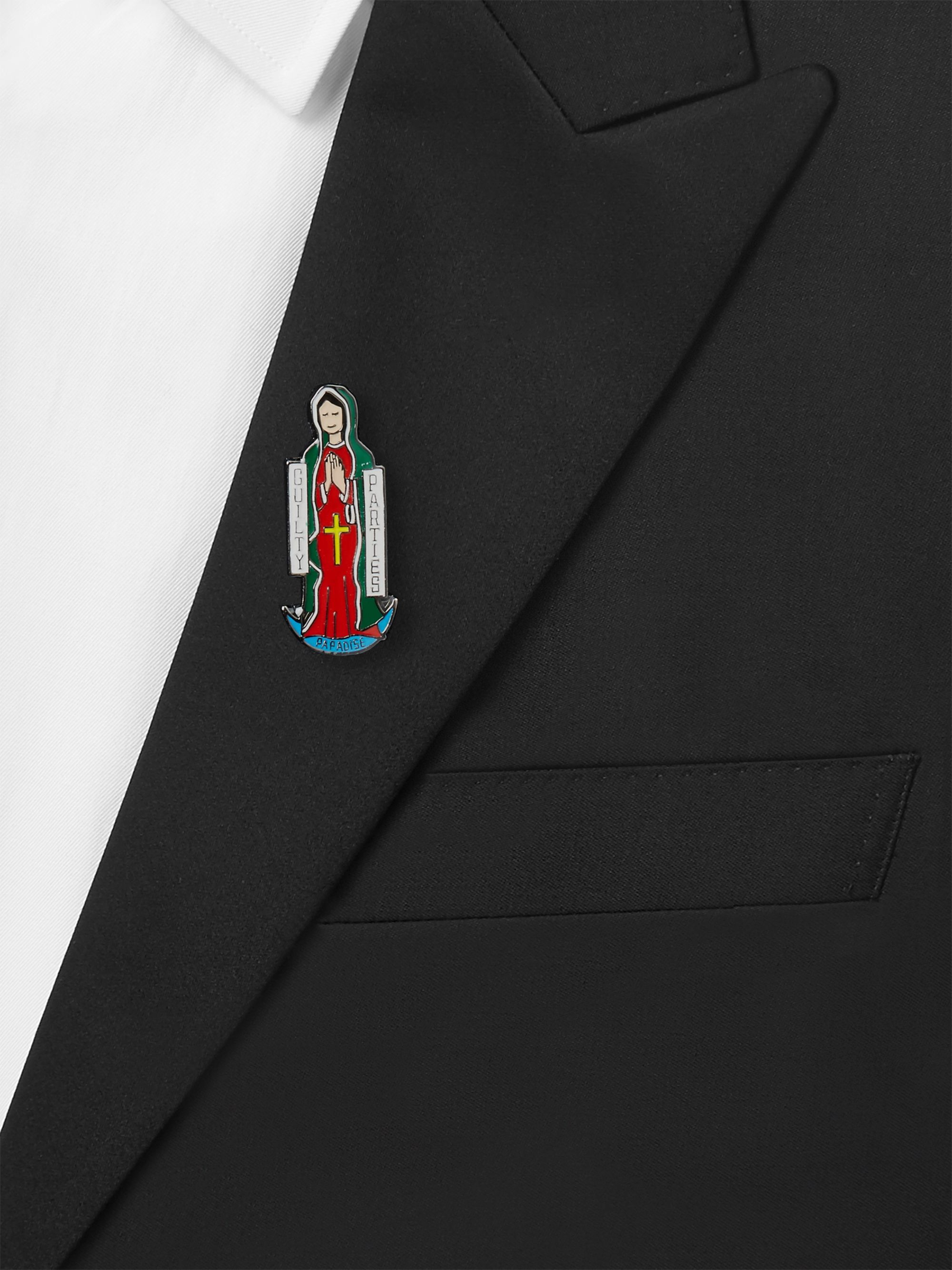Wacko Maria Enamelled Pin