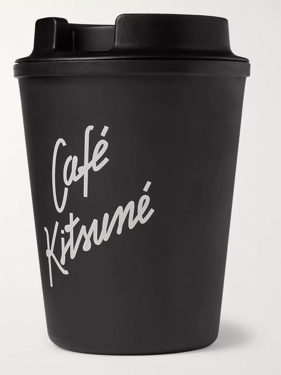 Café Kitsuné Printed Travel Cup