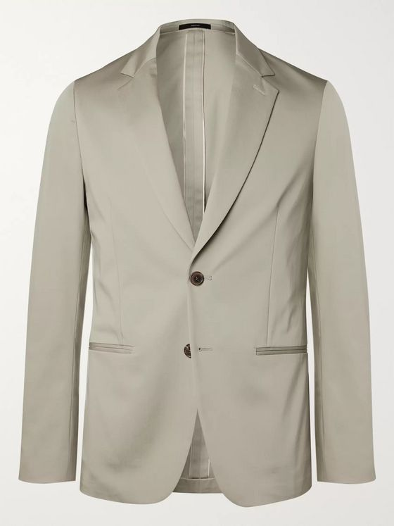 Paul Smith Soho Slim-Fit Stretch-Cotton Suit Jacket