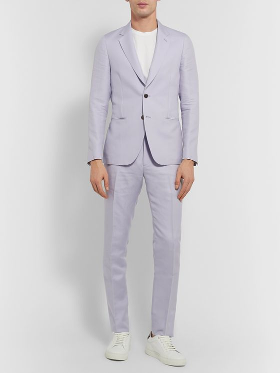 Paul Smith Soho Slim-Fit Cotton and Silk-Blend Suit Jacket