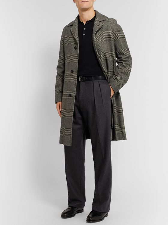 De Petrillo Virgin Wool-Flannel Trousers