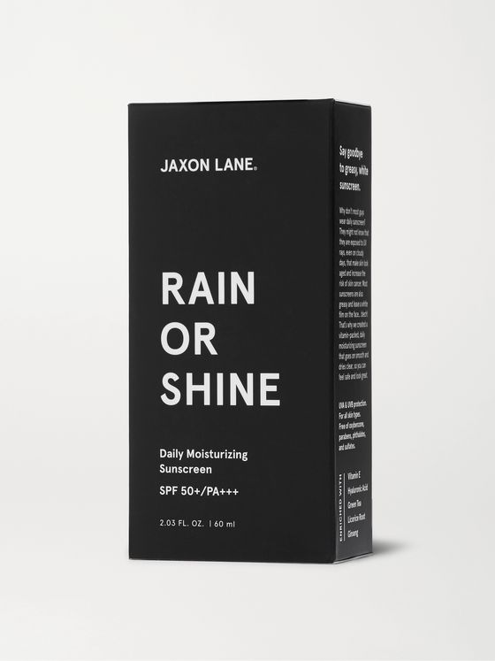 JAXON LANE Rain or Shine Daily Moisturizing Sunscreen SPF 50+, 60ml