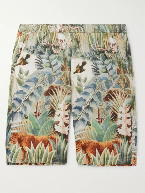 Endless Joy Jungle Printed Woven Shorts