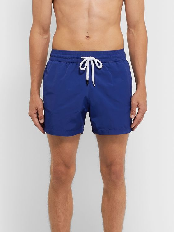 FRESCOBOL CARIOCA Slim-Fit Short-Length Swim Shorts