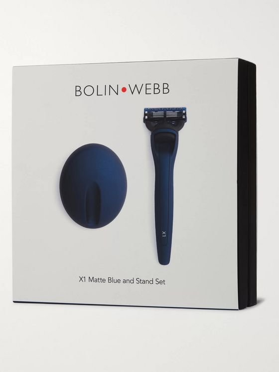 Bolin Webb X1 Razor and Stand Shaving Set