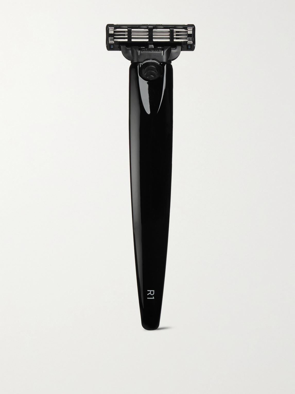 Bolin Webb R1 Mach3 Cartridge Razor In Black