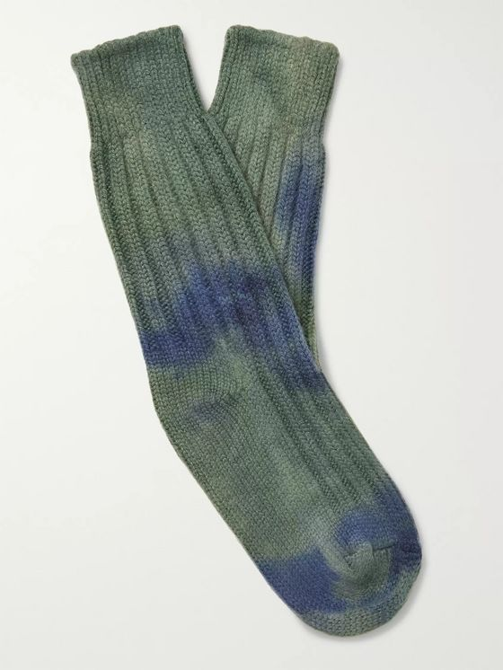 The Elder Statesman HOT DYE YOSEMITE SOCKS