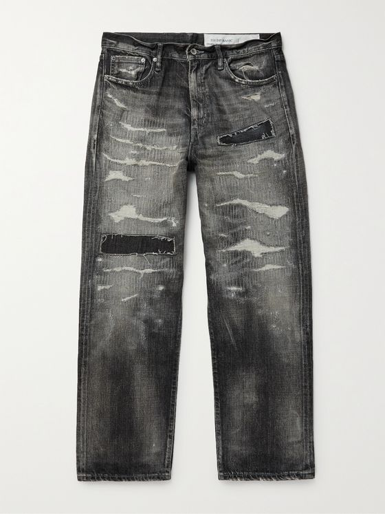 NEIGHBORHOOD Distressed Denim Jeans