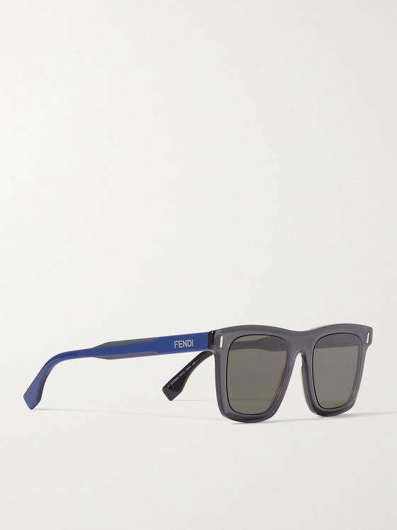 FENDI Square-Frame Acetate Sunglasses