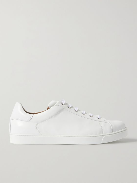 GIANVITO ROSSI Leather Sneakers