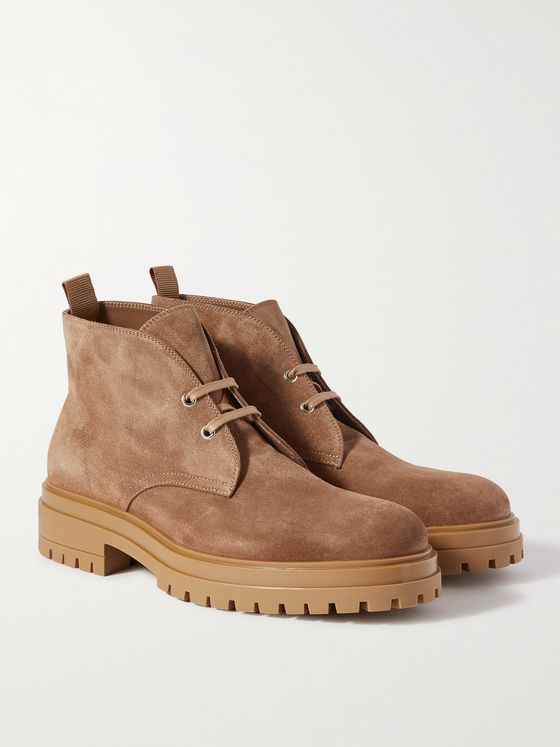 GIANVITO ROSSI Humphrey Suede Desert Boots
