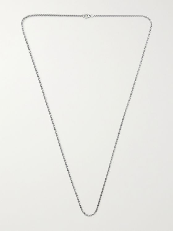 MIANSAI Sterling Silver Chain Necklace