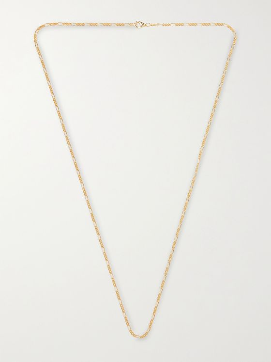 MIANSAI Gold Vermeil Chain Necklace