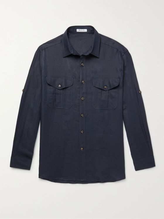 LORO PIANA Harry Linen Shirt