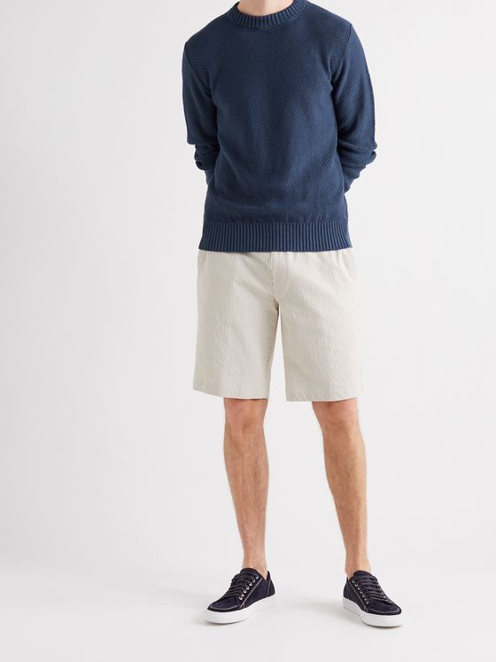 LORO PIANA Slim-Fit Linen Sweater