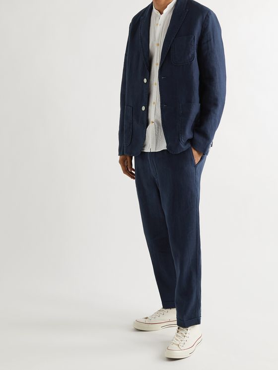 ALEX MILL Mercer Linen Blazer