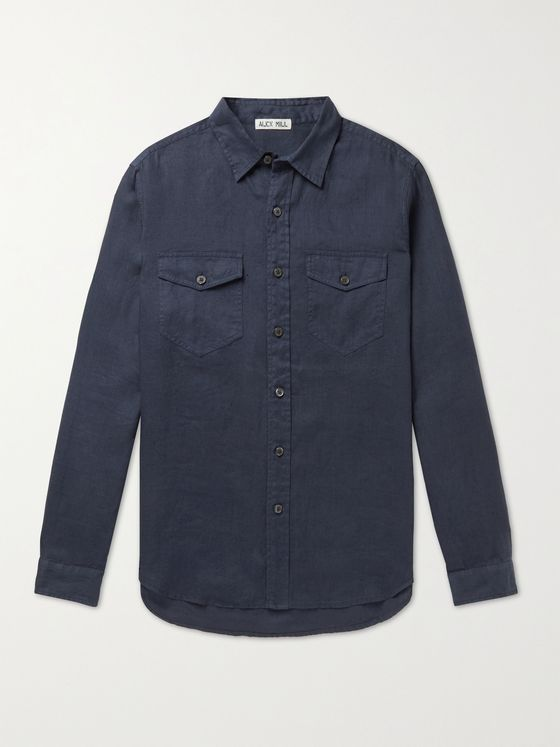 ALEX MILL Linen Shirt