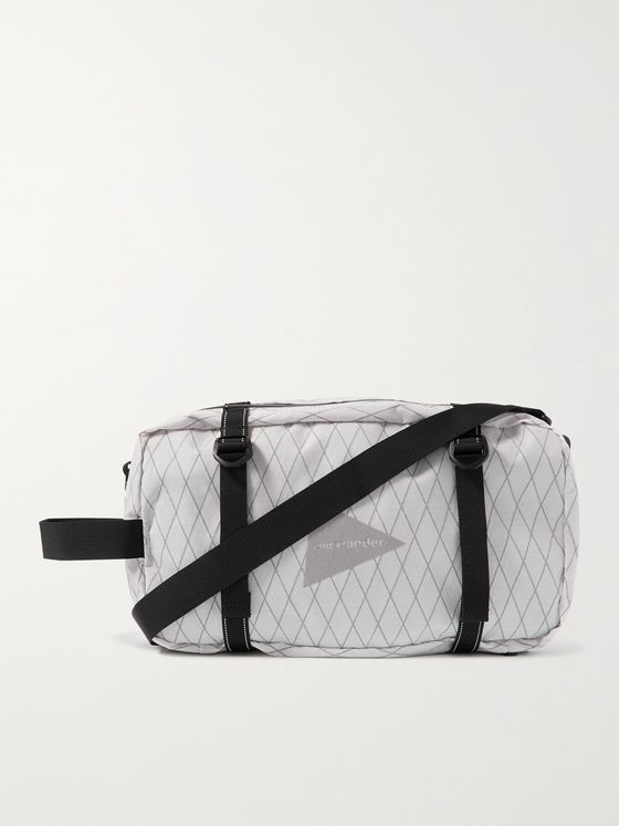 AND WANDER X-Pac Ripstop Messenger Bag