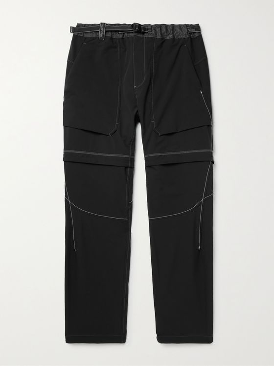 AND WANDER Belted Convertible Schoeller 3XDRY Trousers