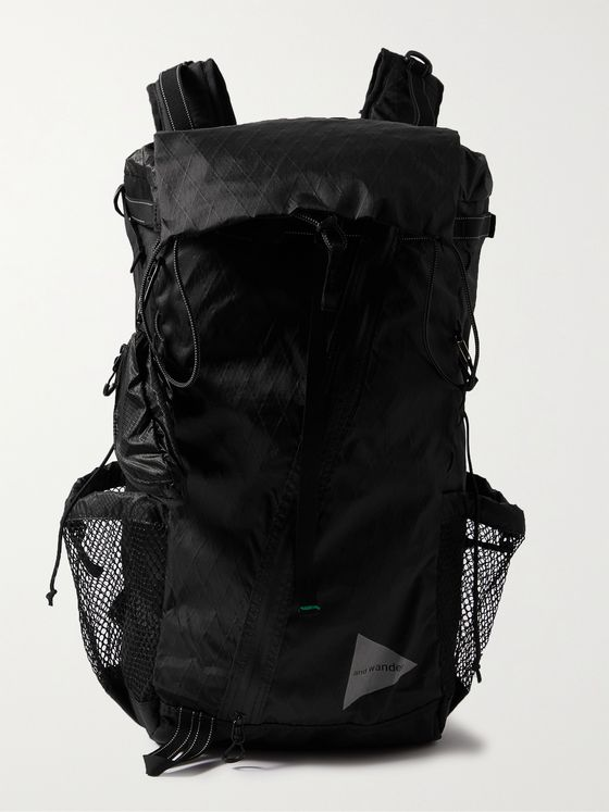 AND WANDER X-Pac Printed Ripstop Backpack