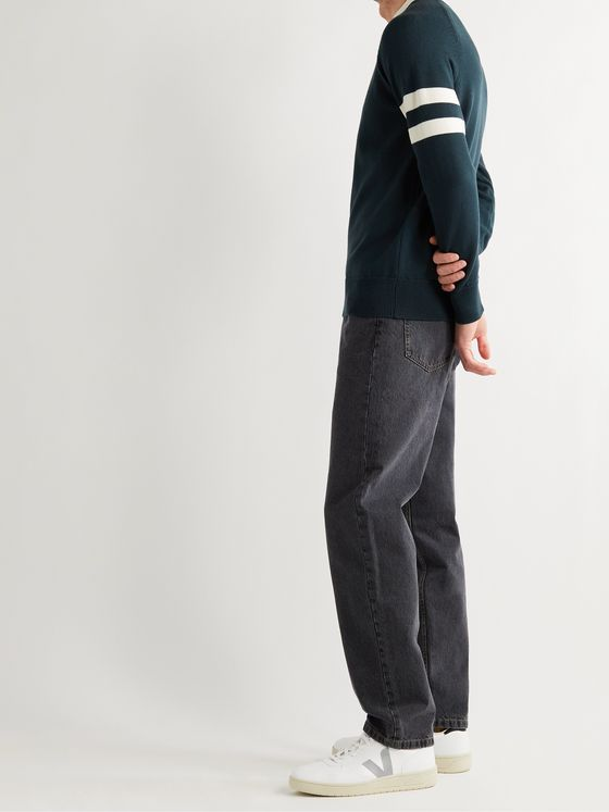 SUNSPEL + Paul Weller Striped Merino Wool Sweater