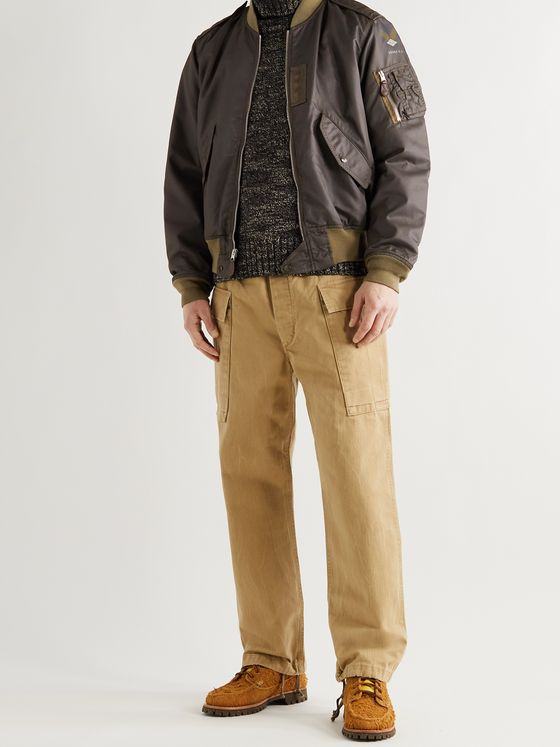 RRL Bordon Padded Shell Bomber Jacket