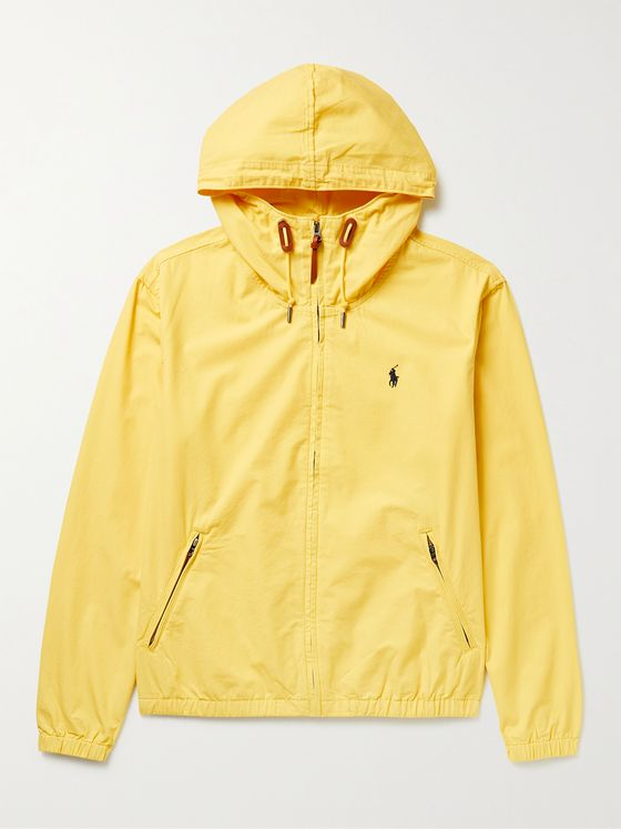 POLO RALPH LAUREN Colt Logo-Embroidered Cotton Hooded Jacket