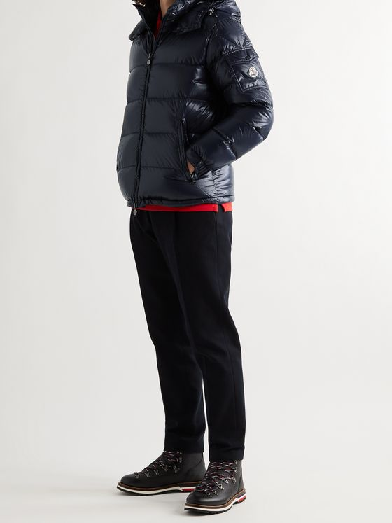 MONCLER Maya Quilted Shell Down Hooded Jacket