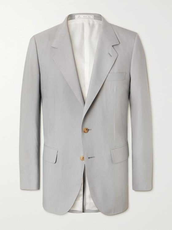 UMIT BENAN B+ Richard Silk Suit Jacket