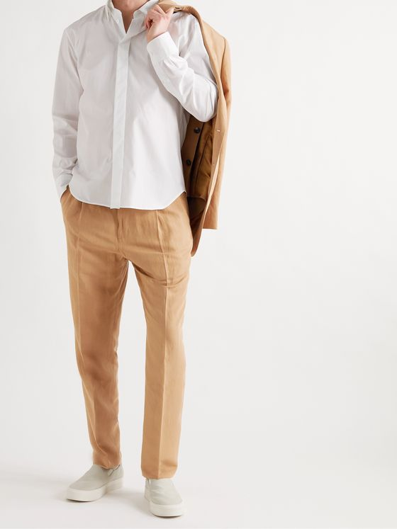 UMIT BENAN B+ Andy Weekend Tapered Poplin Trousers