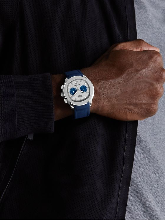 PIAGET Polo Panda Automatic Chronograph 42mm Stainless Steel and Rubber Watch, Ref. No. G0A46013